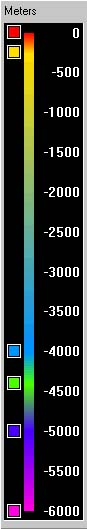 Elevation Color Bar